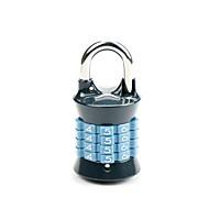 Master-Sperre 1533eurnblk Passwort-Sperre 4-stelliges Passwort Gepäck Vorhängeschloss Dail Lock Passwort Sperre