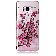 Чехол для samsung galaxy s8 plus s8 phone case tpu материал imd процесс цветение сливы hd флеш-память телефон чехол s7 край s7 s6 край s6