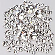 14400 Decoración de uñas Las perlas de diamantes de imitación maquillaje cosmético Dise?o de manicura