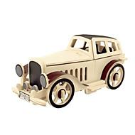 abordables Maquetas y Juguetes de Construcción-Puzzles 3D Puzzles de Madera Maquetas de madera Aeronave Coche Manualidades 3D Madera Clásico Niños Unisex Regalo