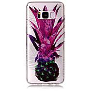 Case Kompatibilitás Samsung Galaxy S8 Plus S8 IMD Minta Hátlap Csillogó Gyümölcs Puha TPU mert S8 S8 Plus S7 edge S7 S6 edge S6