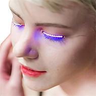 halpa -ywxlight® 1 paria valovoima silmät lamput kaksinkertainen iho tarrat vääriä silmäripsejä lamppu halloween baari