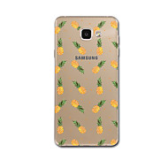 hoesje Voor Samsung Galaxy A5(2017) A3(2017) Transparant Patroon Achterkantje Fruit Zacht TPU voor A3 (2017) A5 (2017) A7 (2017) A8