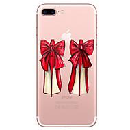 Назначение iPhone X iPhone 8 Чехлы панели Прозрачный С узором Задняя крышка Кейс для Соблазнительная девушка Мягкий Термопластик для Apple
