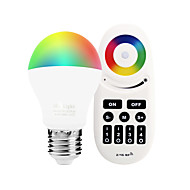 6W E27 LED-älyvalot A60(A19) 14 ledit SMD 5050 Infrapunasensori Himmennettävissä Kauko-ohjattava WIFI APP Ohjaus Valaistuksen ohjaus RGB