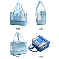 preiswerte Alles fürs Reisen-Reisetasche Strandtasche Wasserdichter Beutel Wasserdicht Einschließlich Wasser-Blasen für Kleider PVC Oxford Tuch 36*29*18