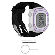 Für Garmin Vorläufer 10 Vorläufer 15 Gummiband Ersatz Uhrenarmband Uhrenarmbänder Zubehör mit Werkzeug