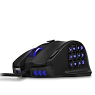 50 to 16400 DPI High Precision Laser MMO Gaming Mouse for PC18 Programmable Buttons VENUS