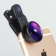 abordables Lentes para Móvil-Lente del teléfono móvil del ivr lente 10x macro lente externa granangular de 28m m