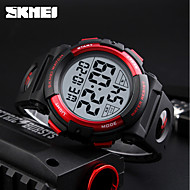 Недорогие Фирменные часы-SKMEI Муж. Спортивные часы / электронные часы Японский Календарь / Секундомер / Защита от влаги PU Группа Черный / Зеленый / Фосфоресцирующий / Два года / Maxell626 + 2025