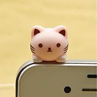 ieftine -anti-praf plug diy pisica artizanat desene animate jucărie rășină jucărie telefon mobil
