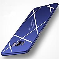 Недорогие Чехлы и кейсы для Galaxy S8-Кейс для Назначение SSamsung Galaxy S8 Plus S8 Матовое Кейс на заднюю панель Полосы / волосы Твердый ПК для S8 Plus S8