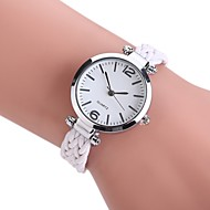 voordelige Bohémien horloges-Dames Kwarts Polshorloge Chinees Vrijetijdshorloge PU Stof Band Vintage Informeel Bohémien Dress horloge Elegant Modieus Zwart Wit Blauw