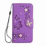 Tok Sony Ericsson Xperia l1 xa1 ultra pénztárca sztring dombornyomott pillangó pu bőr tok Sony Sony xa1 e5 xz xzs xa ultran x kompakt xz