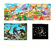 cheap Toys & Hobbies-Jigsaw Puzzle Toys Others Dragon Cartoon 3D Cartoon Star Wooden Not Specified Pieces
