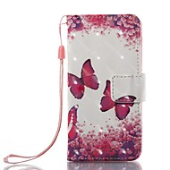Veske til Apple iPod Touch 5 Veske 6 Veske Veske Veske Veske Veske Veske Veske Full Body Veske Butterfly Hard Pu Leather