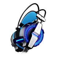billige -KOTION EACH G7000 Pannebånd Med ledning Hodetelefoner dynamisk Plast Gaming øretelefon Med volumkontroll Med mikrofon Headset