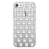 7plus 전화 케이스 투명 패턴 뒷면 커버 케이스 만화 할로윈 소프트 tpu 아이폰 7 6splus 6plus 6 6s 5 5s se
