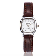 voordelige Modieuze horloges-Dames Modieus horloge Chinees Kwarts Leer Band Elegant Zwart Wit Bruin