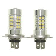 Sencart 2pcs h7 px26d lâmpadas faróis de faróis de farol de luzes de nevoeiro (branco / vermelho / azul / branco morno) (dc / ac9-32v)
