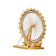 cheap Toys & Hobbies-Jigsaw Puzzle Metal Puzzles Toys Round Windmill 3D DIY Alloy Not Specified Pieces