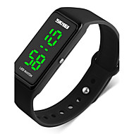 cheap Jewelry & Watches-SKMEI Men's Couple's Sport Watch Wrist Watch Digital 50 m Water Resistant / Water Proof Calendar / date / day Stopwatch PU Band Digital Black - Red Green Blue / Noctilucent