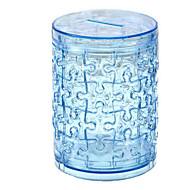 cheap Toys & Hobbies-3D Puzzles Jigsaw Puzzle Crystal Puzzles Toys Circular Dog Tower Horse Bear 3D Plastics Iron Unisex Pieces
