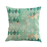 1 szt Cotton / Linen Pokrywa Pillow Poszewka na poduszkę,Geometryczny wzór Nowość ModnyGeometrické Vintage Na co dzień Retro Tradycyjny /