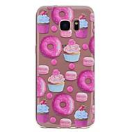 ケース 用途 Samsung Galaxy S8 Plus S8 パターン バックカバー 食べ物 ソフト TPU のために S8 S8 Plus S7 edge S7 S6 edge S6