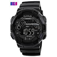 billige Modeure-Herre Digital Watch Unik Creative Watch Armbåndsur Smartur Militærur Skeletur Kjoleur Modeur Sportsur Kinesisk Quartz Digital Alarm