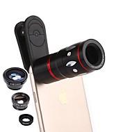 tanie Fotografia smartfonem-12X Makro 0,65X szerokokątny kąt Obiektyw aparatu Zestaw do aparatów fotograficznych Xiaomi Huawei Samsung iPhone