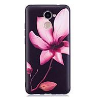 Недорогие Чехлы и кейсы для Huawei Honor-Кейс для Назначение Huawei P9 Lite Huawei С узором Кейс на заднюю панель Цветы Мягкий ТПУ для P10 Lite P10 Huawei P9 Lite P8 Lite (2017)
