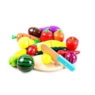 Χαμηλού Κόστους Παιχνίδια και Χόμπι-Σετ παιχνιδιών Κουζίνα Παιχνίδια ρόλων Παιχνίδια Λαχανικά Φρούτο Φρούτα & Λαχανικά Εργαλεία Κοπής Φρούτων & Λαχανικών Ξύλινος Παιδικό