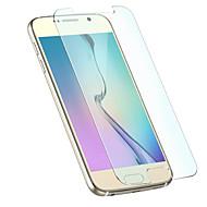 Недорогие Чехлы и кейсы для Galaxy S-Защитная плёнка для экрана Samsung Galaxy для S6 Закаленное стекло 1 ед. Защитная пленка для экрана 2.5D закругленные углы Уровень защиты