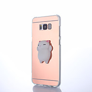 Hoesje voor Samsung Galaxy S8 S8 Plus Squishy Diy Stress Reliëf Case Achterhoesje Hoesje Cute 3D Cartoon Zachte TPU Hoesje voor Samsung