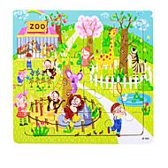 tanie Zabawki & hobby-Puzzle Zabawki Świnka Myszka Statek Dom Cartoon Shaped Kwiat Nie określony Sztuk