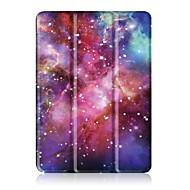 Padrão de pintura caixa de couro para três vezes com suporte para lenovo tab 4 10 (tb-x304fn) tablet de 10,1 polegadas