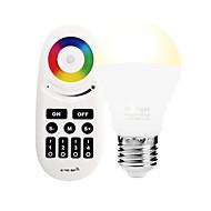 6W E27 LED-älyvalot A60(A19) 14 ledit SMD 5050 Infrapunasensori WIFI APP Ohjaus Valaistuksen ohjaus Himmennettävissä Kauko-ohjattava RGB