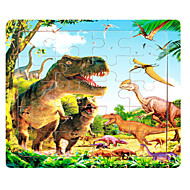 cheap Toys & Hobbies-Jigsaw Puzzle Toys Others Dragon Wooden Not Specified Pieces