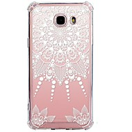 Case For Samsung Galaxy J7 (2017) J3 (2017) Transparent Pattern Back Cover Lace Printing Soft TPU for J7 (2016) J7 (2017) J7 V J7 Perx J7