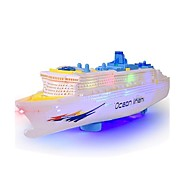 cheap Toys & Hobbies-Water Toy Toy Boats Model Building Kits Boat Toys Ship Electric Simulation Plastics Children's Pieces
