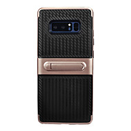 voor case cover met achterkant cover case lines / golven soft tpu voor Samsung Galaxy Note 8