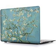 MacBook Futerał na MacBook Air 13 cali MacBook Air 11 cali MacBook Pro 13- palců s Retina displejem Kwiaty Poliuretan termoplastyczny
