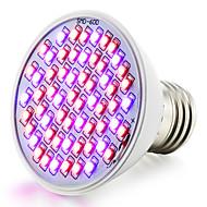 E26/E27 LED-kweeklampen 60 SMD 3528 360-430 lm Rood Blauw K Waterbestendig V