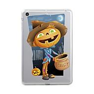Назначение iPad (2017) Чехлы панели Прозрачный С узором Задняя крышка Кейс для Прозрачный Halloween Мягкий Термопластик для Apple iPad
