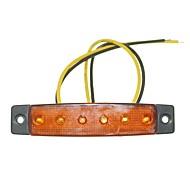 abordables -SENCART 12 pcs Camion Ampoules électriques 1.5W LED SMD 120lm 6 Éclairage extérieur For Universel Toutes les Années