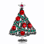 Недорогие Новогодние украшения-Жен. Броши Стразы Мода Рождество Сплав Прочее Бижутерия Назначение Рождество Подарок
