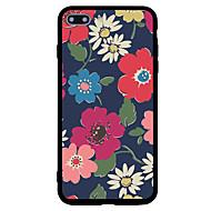 Назначение iPhone 7 iPhone 7 Plus Чехлы панели Матовое С узором Задняя крышка Кейс для Цветы Твердый Акриловое волокно для Apple iPhone 7