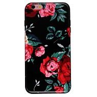 Назначение iPhone 7 iPhone 7 Plus Чехлы панели Ультратонкий С узором Задняя крышка Кейс для Цветы Мягкий Термопластик для Apple iPhone 7