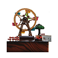 cheap Toys & Hobbies-Toy Cars Music Box Windmill Toys Square Windmill Wooden 1 Pieces Not Specified Valentine's Day Gift